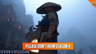 Don't Ruin Season 4 Ubisoft - For Honor