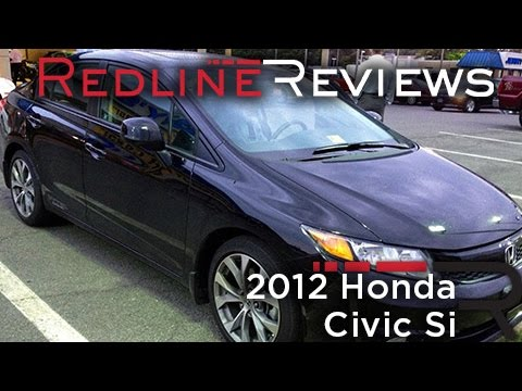 2012 Honda Civic Si Review, Walkaround, Exhaust, Test Drive