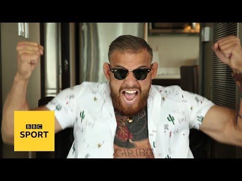 Islam Badurgov: The 'Kazakh Conor McGregor' cashing in on the pre-fight hype - BBC Sport