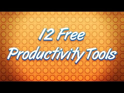 12 Handy Free Productivity Tools For Game Designers