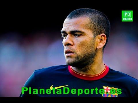 Planeta FC Barcelona: Dani Alves y Adriano Correia pueden tener las horas contadas