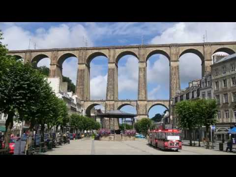 Morlaix, town of viaduct