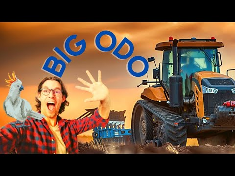 🚜 Tractors for Children 🌻 Explore a Tractor in action on the Farm with BIG ODO ⭕