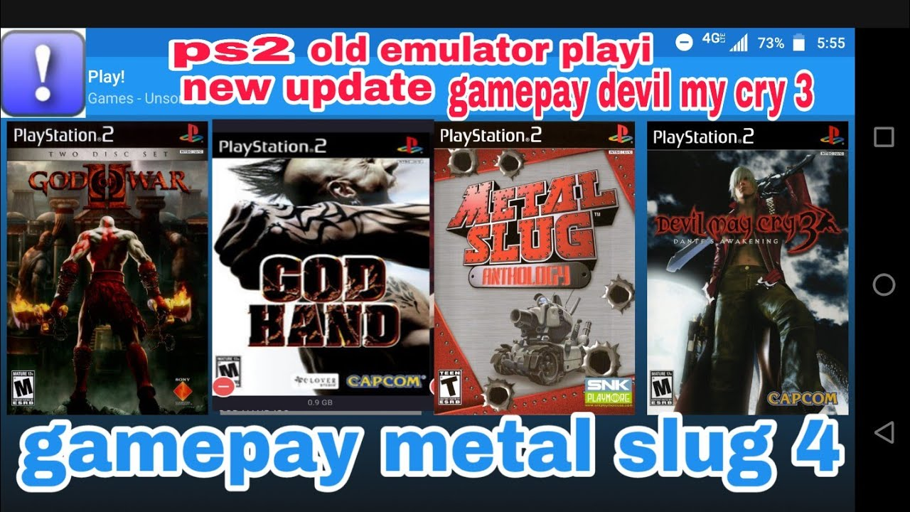 Ps2 old emulator new big up update working All device gamepay devil