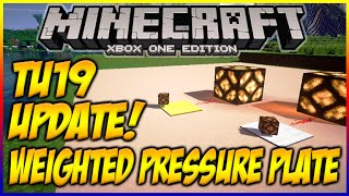 "Minecraft (Xbox360/PS3) ""TITLE UPDATE 19"" WEIGHTED PRESSURE PLATES FULLY EXPLAINED & MORE! [TU19]"