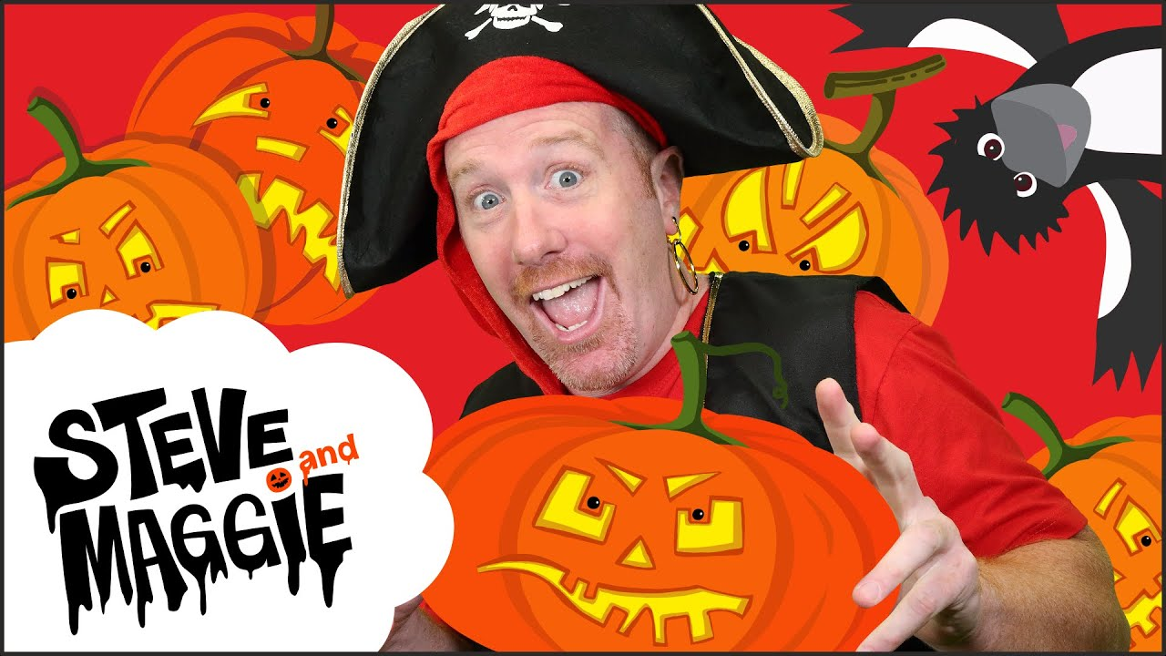 Halloween Party with Steve and Maggie in Spooky Haunted Castle