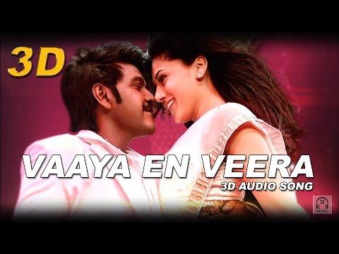 Vaaya En Veera 3D Audio Song | Kanchana 2 | Must Use Headphones | Tamil Beats 3D