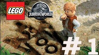 [Türkçe]LEGO Jurassic World [Bölüm 1] Dinazor