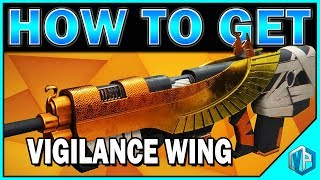 DESTINY 2: Exotic Guide 'VIGILANCE WING' How To Obtain - PERKS, GAMEPLAY, ORNAMENTS & MORE!