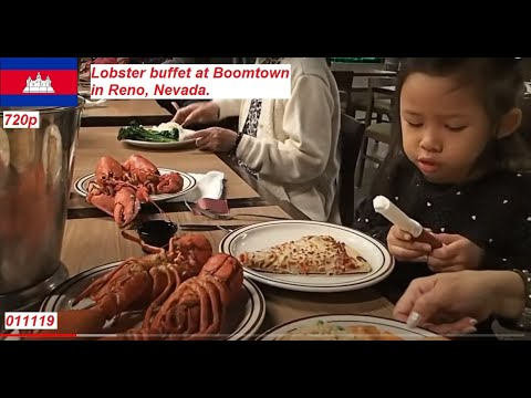 cambodian in america 1 6 19 boomtown lobster buffet in reno nv rh youtube com