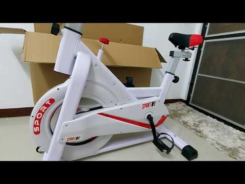 รีวิวจักรยานออกกำลังกาย จักรยานฟิตเนส SPIN BIKE สั่งจาก Shopee