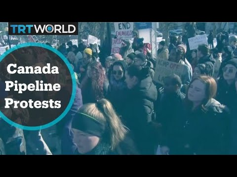 Canada Pipeline Protest:
