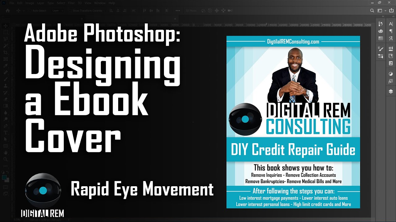 Ebook Cover Design in Photoshop