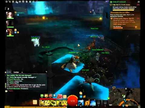 Guildwar2 BWE3 GROUP EVENT(fire elemental killed)