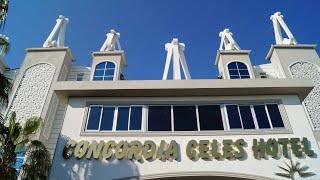 CONCORDIA CELES HOTEL 5* ЗВЕЗД Турция,Окурджалар,Алания.2019 ОБЗОР,4К видео, Апрель 2019.