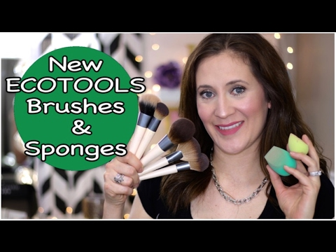 New ECOTOOLS Brushes & Sponges | Review & Demos