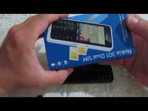 Mở hộp Nokia 301 Dual Sim dung lượng Pin khủng 28 ngày