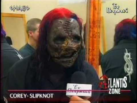 Corey Taylor Interview in Athens