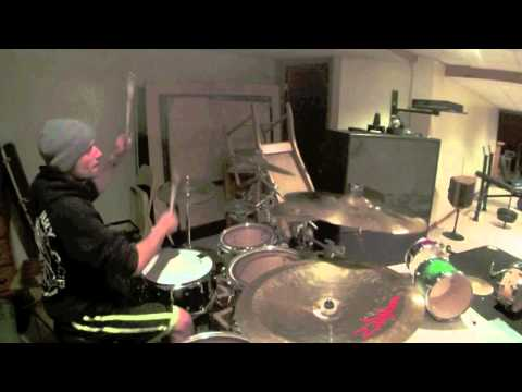 Waka Flocka Flame-Snake In The Grass-Drum Cover by Brad Collier