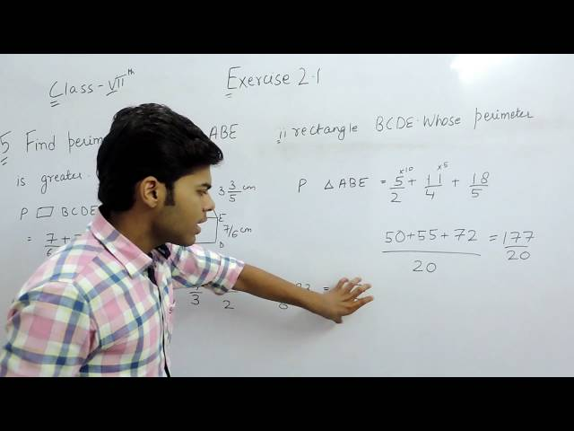 Exercise 2.1 Questions 5 - NCERT/CBSE Solutions for Class 7th Maths