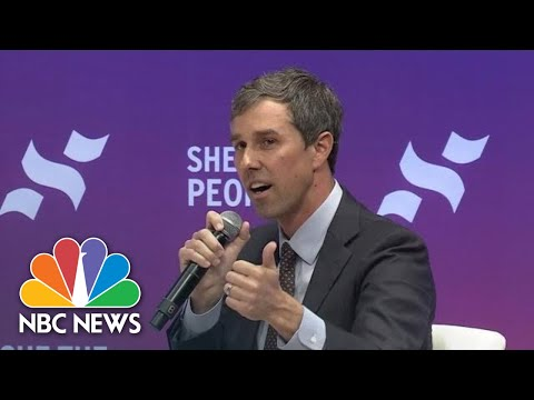 Beto O'Rourke Talks Asylum Seekers At 'She The People' Forum In Houston, Texas | NBC News