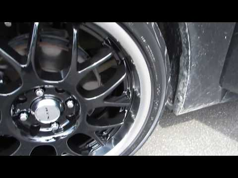 2014 HYUNDAI ACCENT WITH 17 INCH CUSTOM RIMS TIRES HATCHBACK