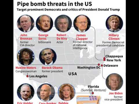 Were 'pro-Trump letter bombs' viable? Credible? Confected by FBI? Strategy of Tension in USA