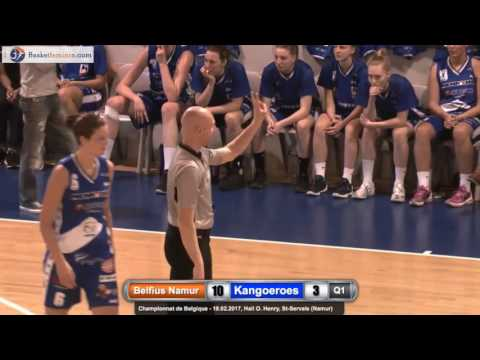 Belfius Namur Capitale vs Kangoeroes Willebroek