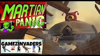 Martian Panic! Arcade On Rails B-Movie Shooter! The Day The Corn Stood Still!