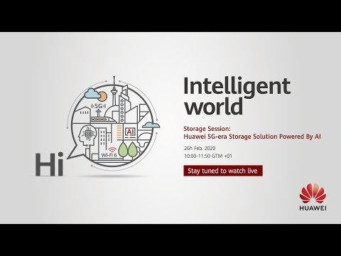 Storage Session: Huawei 5G-era Storage Solution Powered By AI