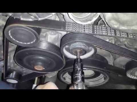 Mercedes Thermostat Replacement DIY