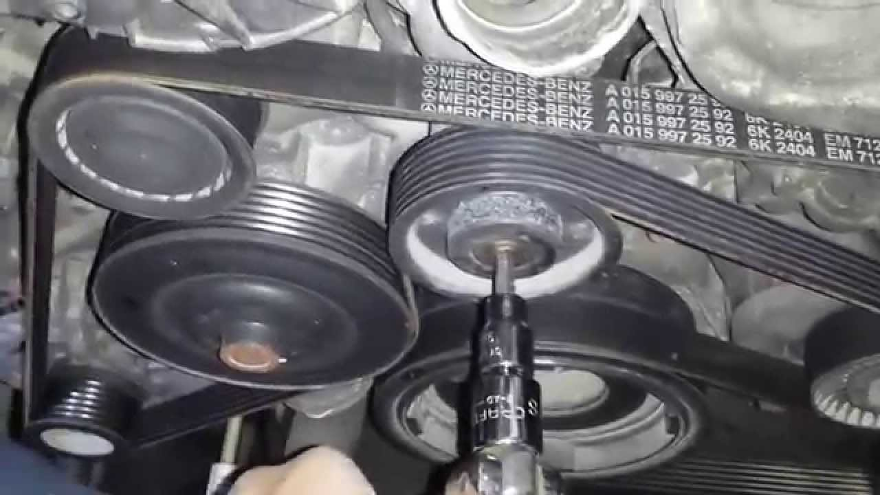 Need Alternator Belt Diagram For Bmw 525d Fixya