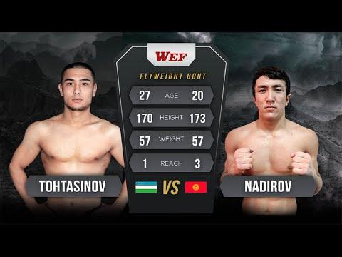 Надиров Алмазбек (KG) VS Тохтасинова Ахрора (UZ)