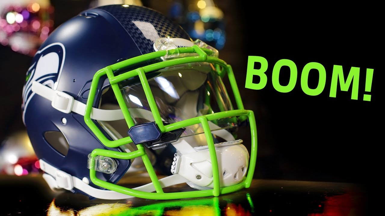 Is This The New Seattle Seahawks Helmet 2018