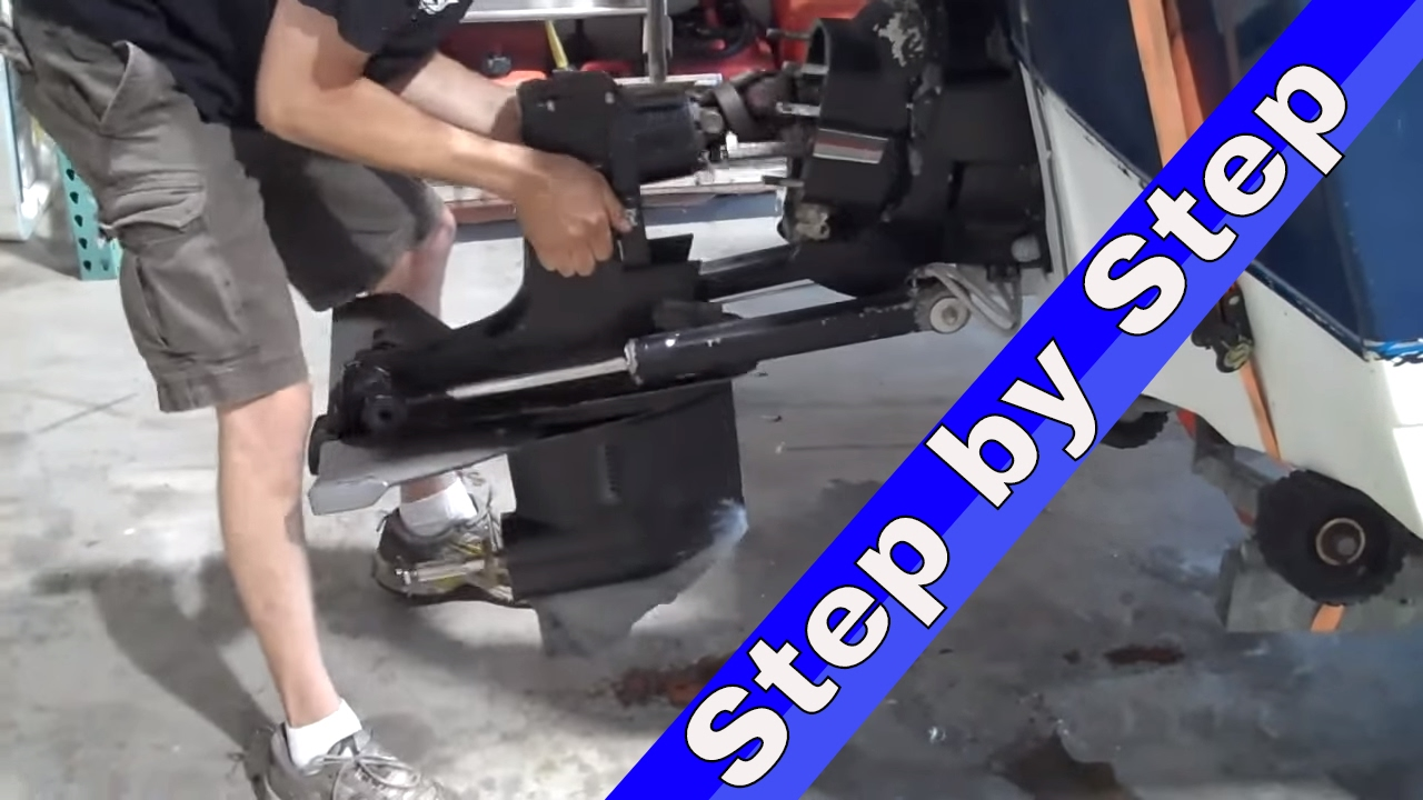 big kid powersports how to remove a mercruiser outdrive [ 1280 x 720 Pixel ]