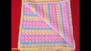 Интересные схемы вязания.(Скатерти,пледы) Interesting patterns knitting. (Tablecloths, blankets)