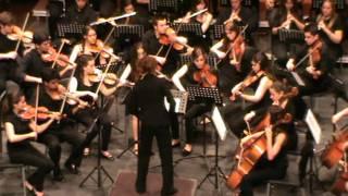 (3º y 4º mov) 5ª SINFONIA de Beethoven - Orquesta A del  C.P.M. Fco Guerrero