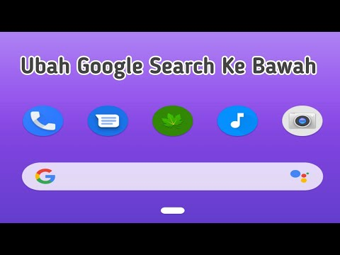HOW TO SHOW GOOGLE SEARCH ON THE MAIN SCREEN OF ANDROID OPPO.