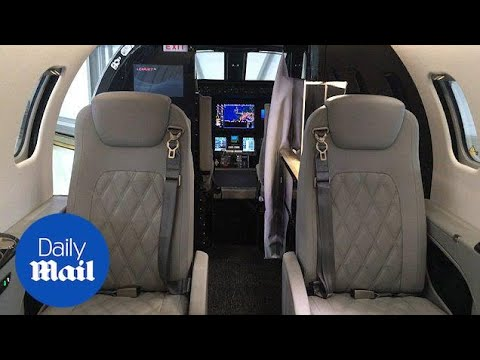 Take a look inside the new Bombardier private LearJet 75 - Daily Mail