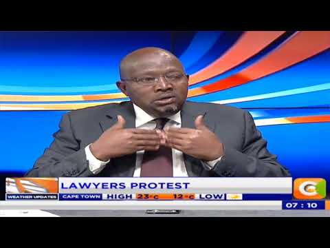 Citizen Extra : Lawyers protest