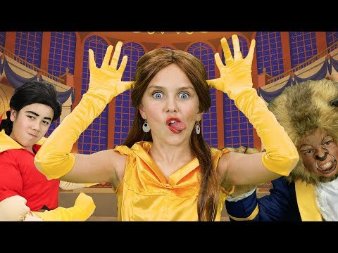 The Best Beauty and the Beast Finger Family Song | FunPop!