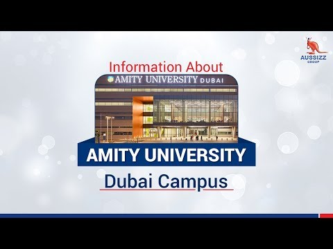 Study at Amity University, Dubai Campus- One of the Top B-school in UAE!