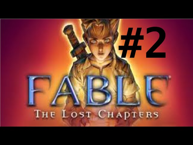 detonado do fable the lost chapters- o treinamento - parte 2
