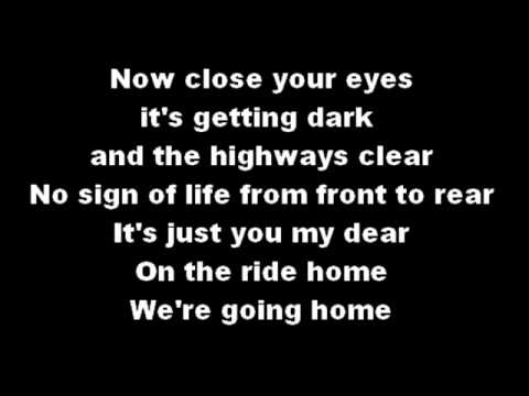 Blue October - She's My Ride Home Lyrics