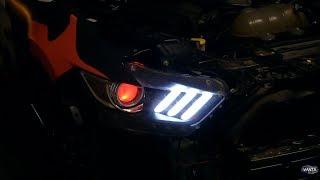 Mustang GT Demon Eye Install - The best Mod yet?