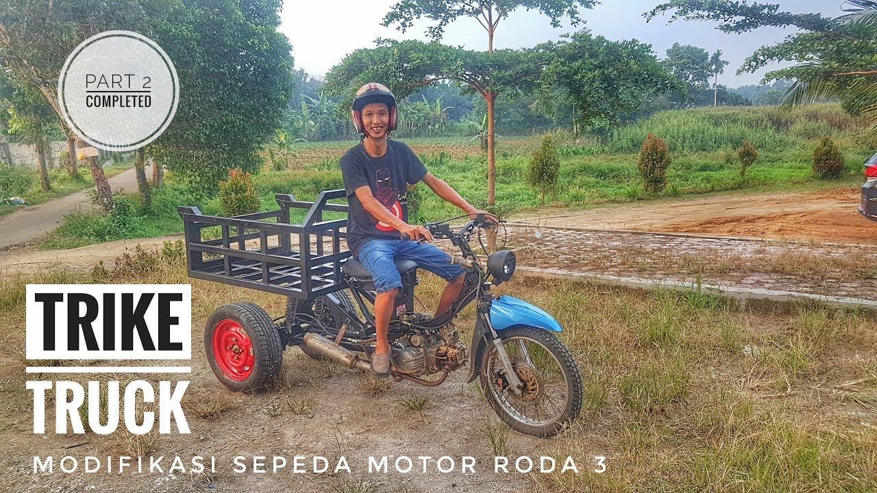 Modifikasi Motor Roda 3 #part 2 COMPLETED