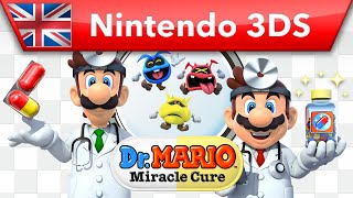 Dr Mario: Miracle Cure - Trailer (Nintendo 3DS)