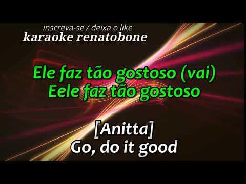 ANITTA E MADONA   Faz Gostoso   karaoke (video completo link comentários)