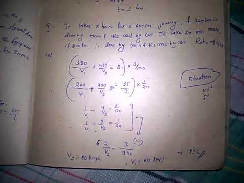 Time and distance prepared notes/part1/aptitude notes/make your exam easy