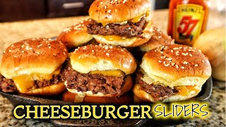 How To Make Cheeseburger Sliders In The Oven  March Madness Munchies
